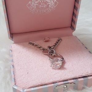 Juicy Couture Diamond ring necklace